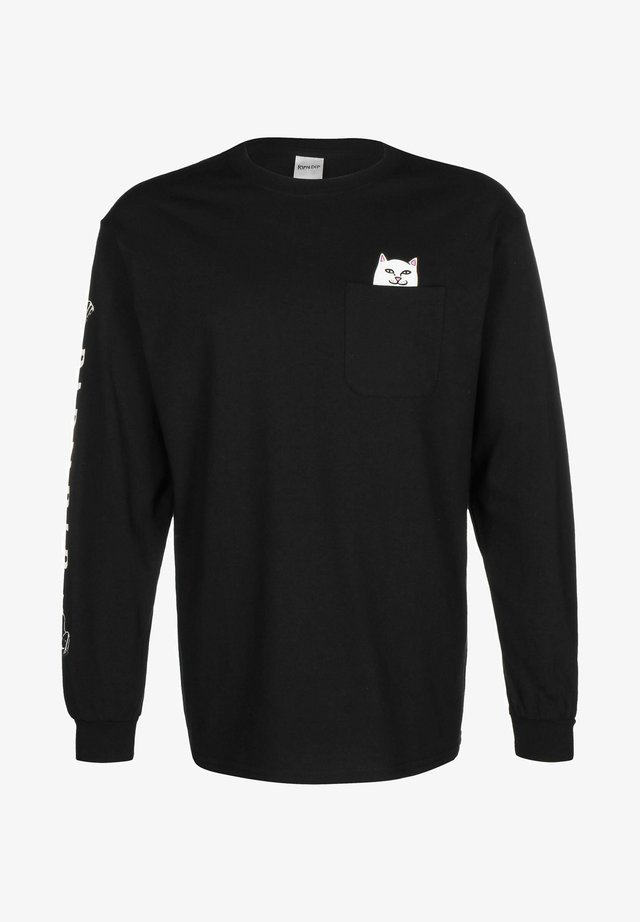 LORD NERMAL - Long sleeved top - black