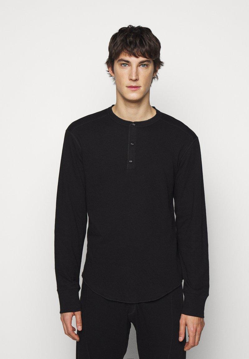 rag & bone - GIBSON  - T-shirt à manches longues - black