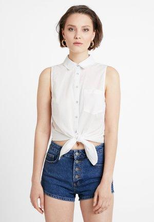 ONLBRIGHT - Button-down blouse - cloud dancer