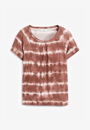 Camiseta estampada - brown