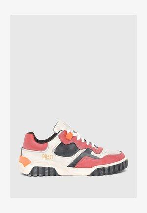 S-RUA  - Sneakers basse - white   red
