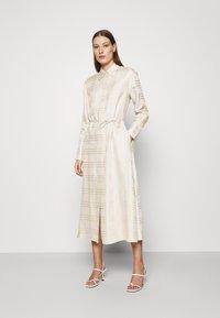 IVY & OAK - BECCA - Day dress - beige check - 0