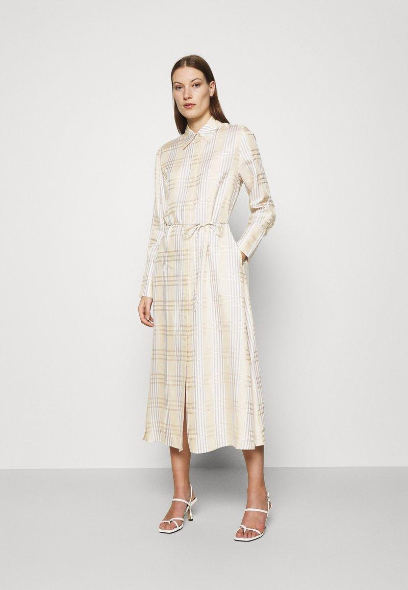 IVY & OAK - BECCA - Day dress - beige check