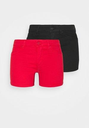 VMHOTSEVEN 2 PACK - Shorts - black/goji berry