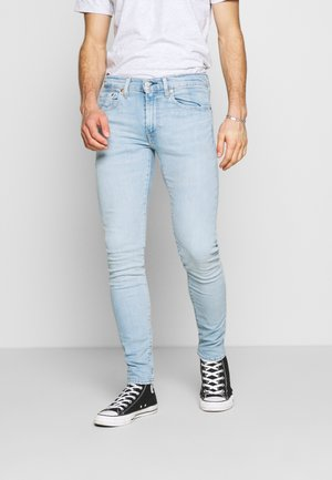SKINNY TAPER - Vaqueros pitillo - light-blue denim