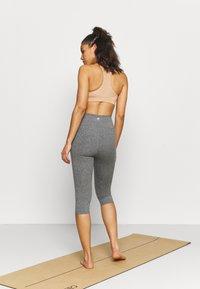 Cotton On Body - SO PEACHY CAPRI - Leggings - black marle - 2