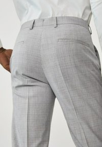 Mango - Suit trousers - gris moyen - 4