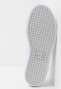 DC Shoes - KALIS VULC UNISEX - Zapatillas - grey/white - 4