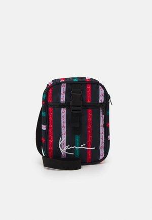 ORIGINALS STRIPE MESSENGER - Across body bag - multicolor