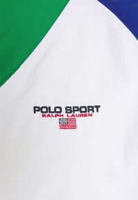 Polo Ralph Lauren - FREESTYLE V BUCKET WINDBREAKER - Summer jacket - pure white/multi - 2