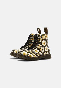 Dr. Martens - PASCAL - Lace-up ankle boots - black/yellow - 1