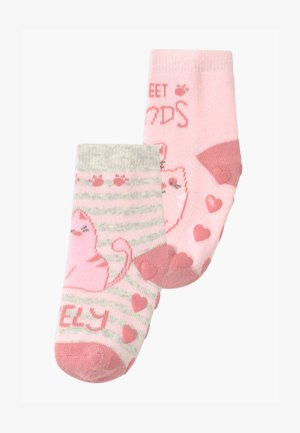 ANTISLIPPER GIRL 2 PACK - Socks - multicolour