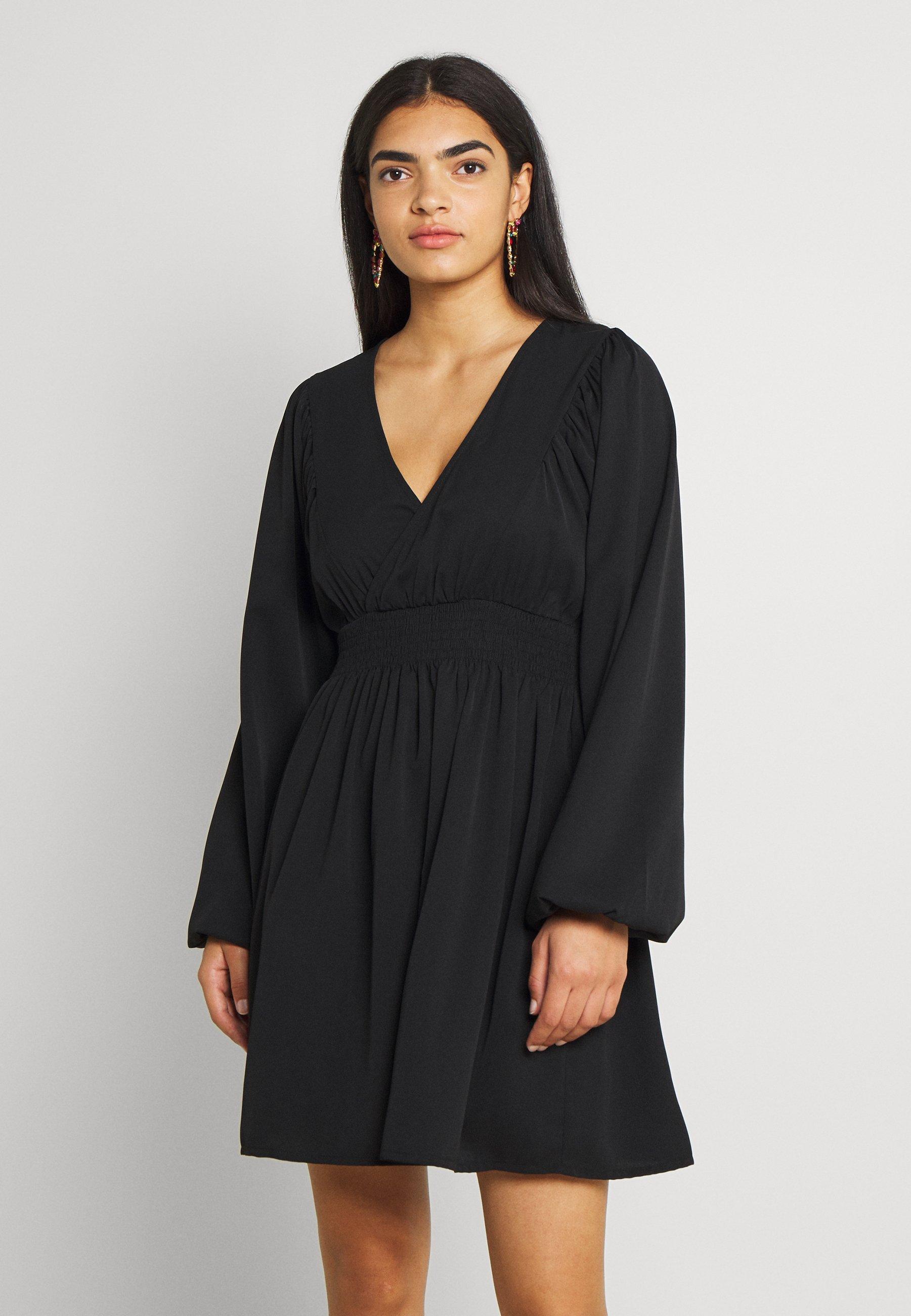 Women SMOCKED WAIST MINI DRESS - Day dress
