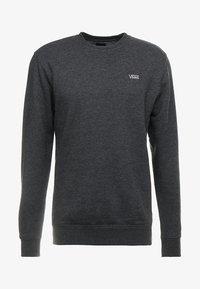 Vans - MN BASIC CREW FLEECE - Sweater - black heather - 3