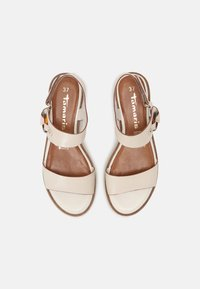 Tamaris - Platform sandals - ivory - 4