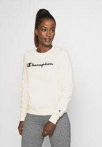 Champion - CREWNECK - Sweatshirt - off-white - 0