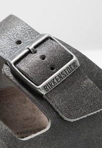 Birkenstock - ARIZONA - Domácí obuv - vintage anthracite - 5