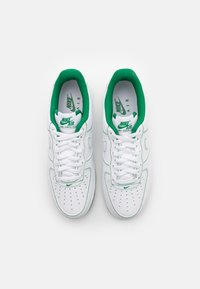 Nike Sportswear - AIR FORCE 1 '07 STITCH - Trainers - white/pine green - 3