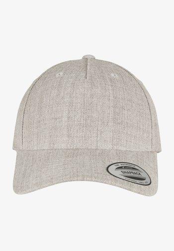 Cap - heather grey