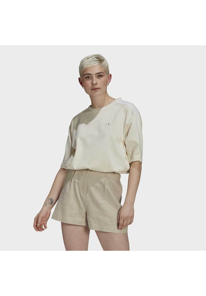 adidas Originals - Print T-shirt - non-dyed