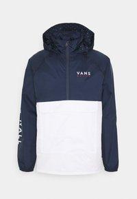 Vans - VICTORY ANORAK - Summer jacket - white/dress blues - 0