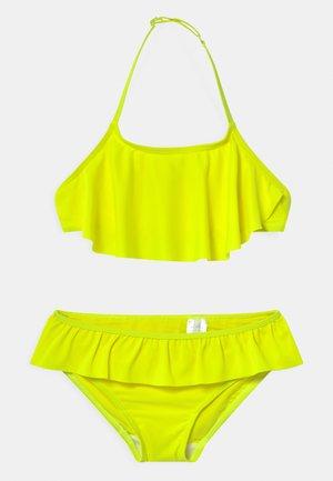 NKFFINI SET - Bikini - safety yellow