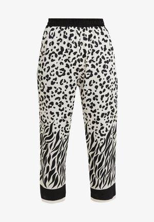PASTICCIOTTO PANTALONE - Trousers - bianco/nero