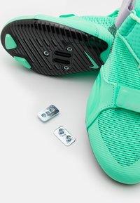 Nike Performance - SUPERREP CYCLE - Cycling shoes - green glow/dark smoke grey/infinite lilac/laser orange - 5