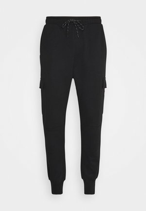 JJIGORDON JJAIR PANTS - Pantaloni cargo - black