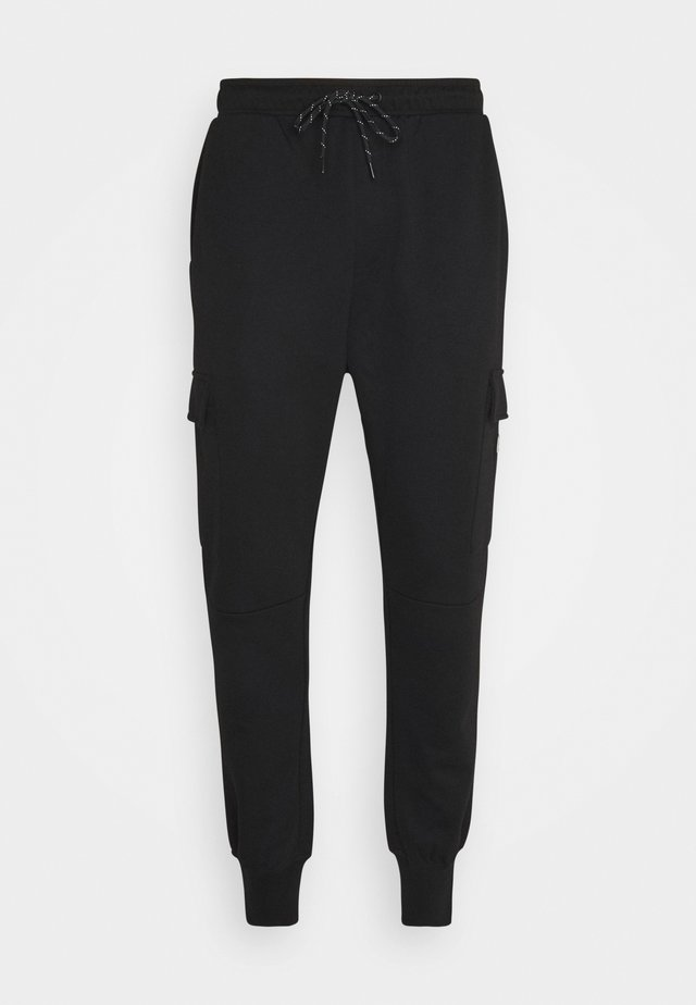 JJIGORDON JJAIR PANTS - Cargo trousers - black