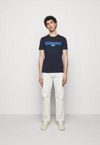 Blauer - T-shirt con stampa - blue - 1