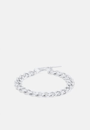 ELSA BRACELET, FAT CHAIN - Armband - silver