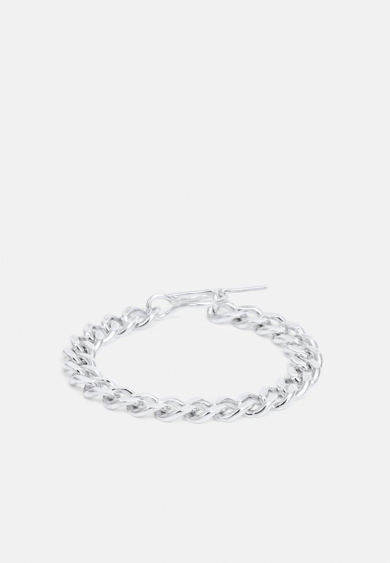 Vibe Harsløf - ELSA BRACELET, FAT CHAIN - Armband - silver