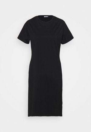 EFFIE DRESS - Jersey dress - black