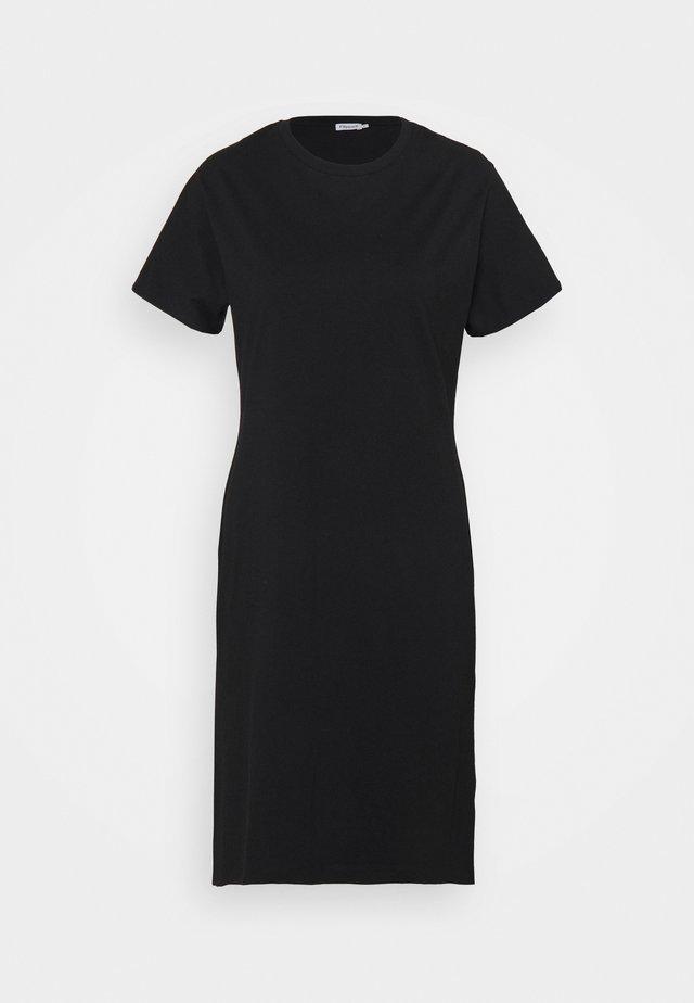 EFFIE DRESS - Jersey dress - black