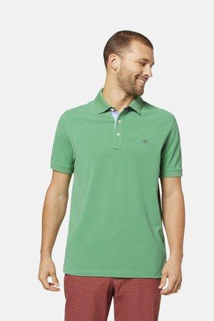 BUGATTI HERREN POLOSHIRT KURZARM - Polo shirt - grün (43)