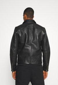 AllSaints - CLAY JACKET - Leather jacket - black - 2