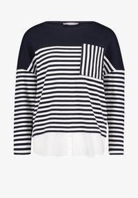 Betty & Co - MIT STREIFEN - Sweatshirt - blue/white - 3