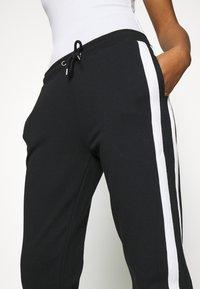 Even&Odd - Spodnie treningowe - black/white - 7