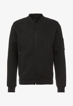 LANYARD - Zip-up hoodie - black