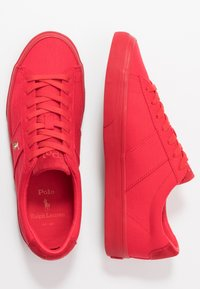 Polo Ralph Lauren - SAYER - Sneakersy niskie - red - 1