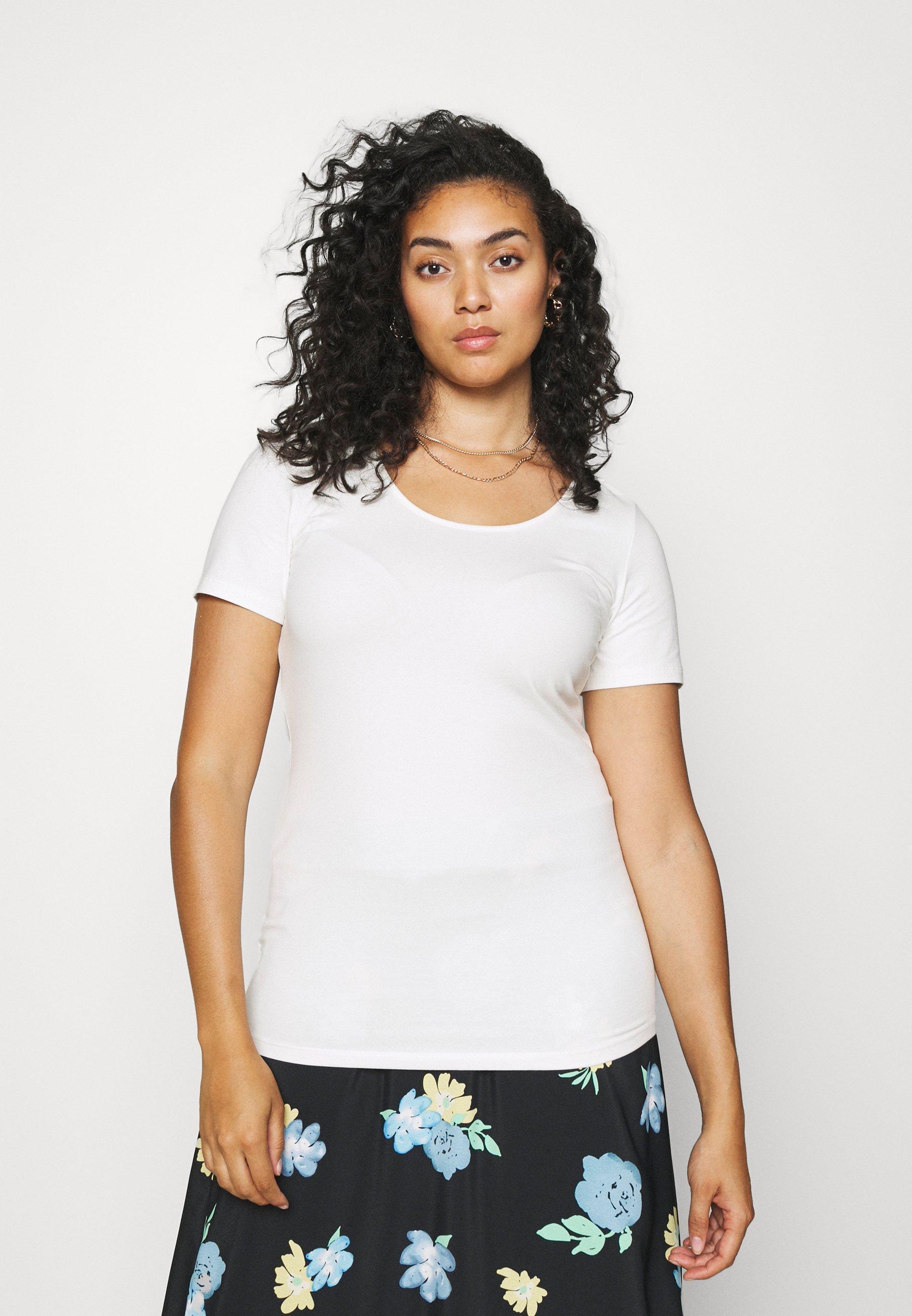 Damen VMPAXI SOFT U NECK - T-Shirt basic