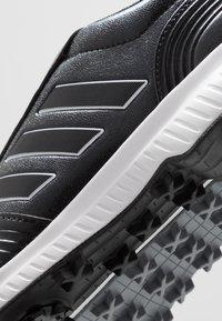 adidas Golf - CP TRAXION BOA - Golfové boty - core black/footwear white/silver metallic - 5