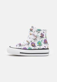 Converse - CHUCK TAYLOR ALL STAR PLAYFUL PETALS - Sneakers alte - white/pixel purple/electric aqua - 0