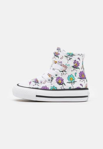 CHUCK TAYLOR ALL STAR PLAYFUL PETALS - Sneakers alte - white/pixel purple/electric aqua