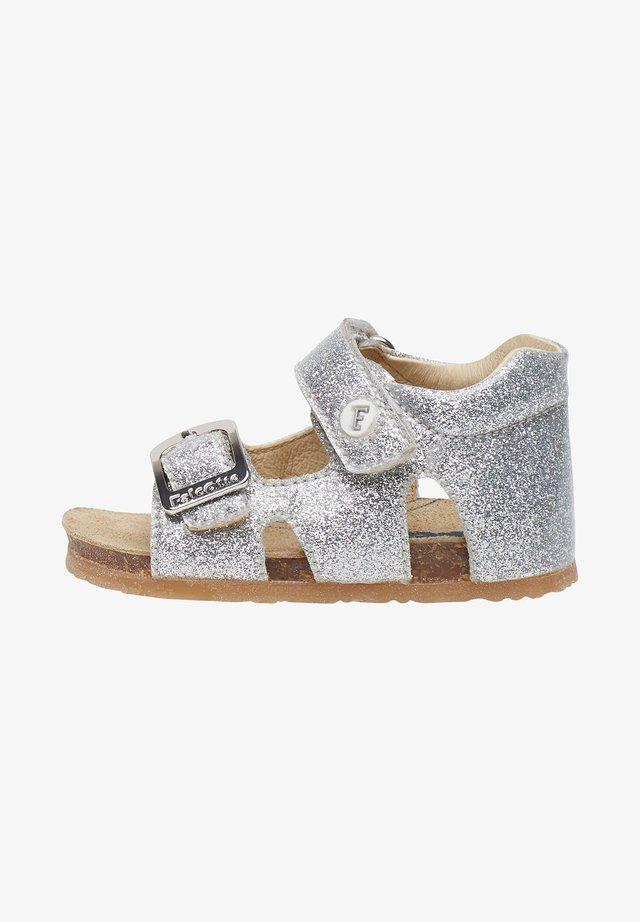 ALBY - Walking sandals - silver