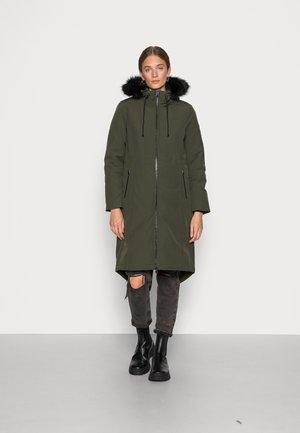 WINTER PARKA - Classic coat - dark olive