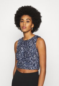 Lace & Beads - PICASSO  - Blouse - navy - 5