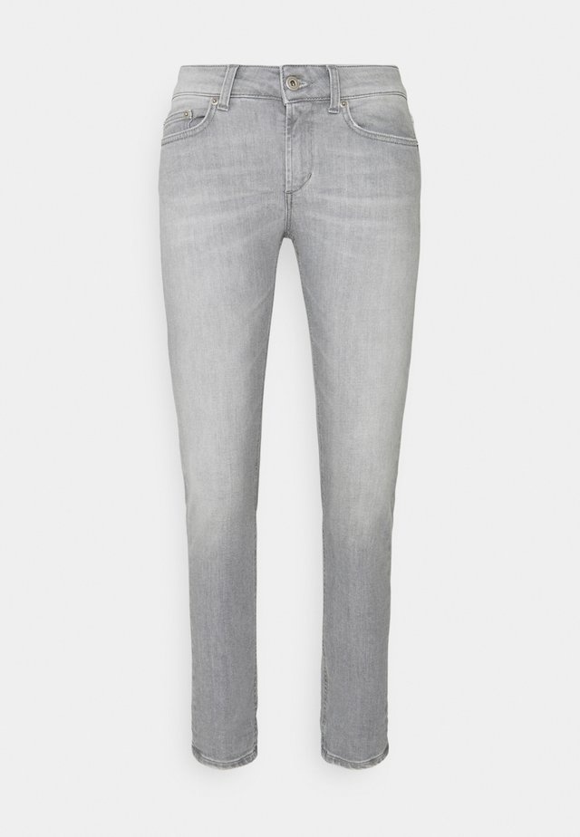 MONROE - Jeans Skinny Fit - grey thread