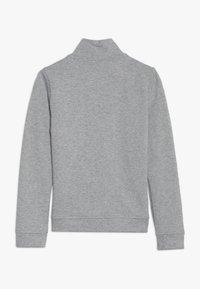 Benetton - JACKET - Zip-up hoodie - grey - 1